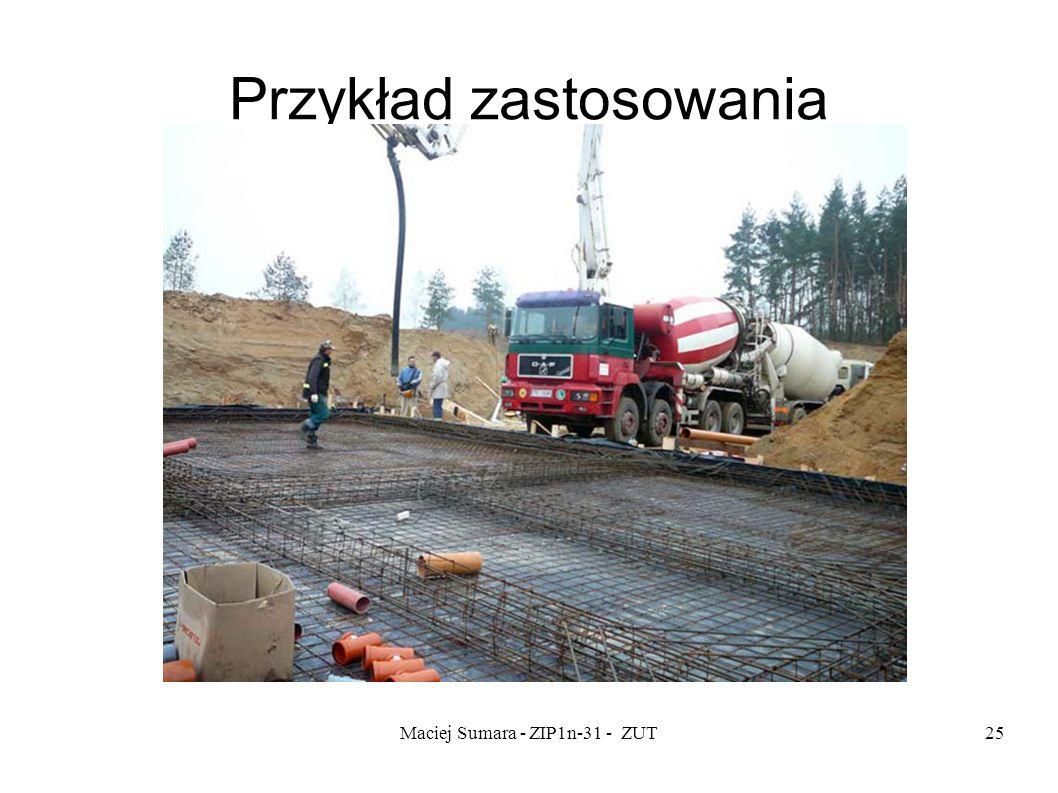 Maciej Sumara - ZIP1n-31 - ZUT25 Przykład zastosowania