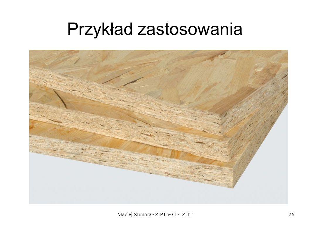 Maciej Sumara - ZIP1n-31 - ZUT26 Przykład zastosowania
