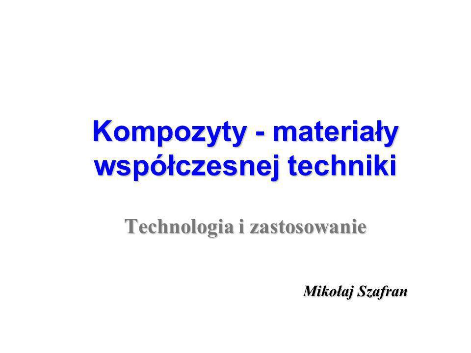 Nowoczesne kompozyty w technice Nowoczesne kompozyty w technice CERAMIKA kompozyty ceramika-metal kompozyty ceramika-polimer kompozyty ceramika–metal-polimer METALPOLIMER