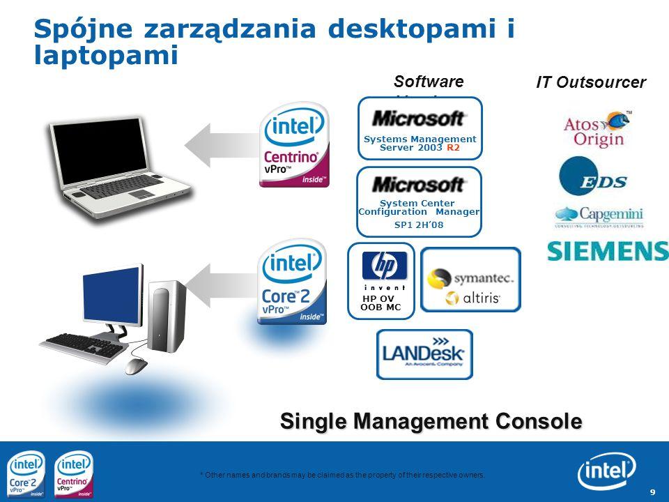 10 Zintegrowana grafika Intela: GMA 3100(w Q35) i GMA X3100 (w GM965) zgodna z logo Windows Vista Premium Ready Pełna obsługa interfejsu graficznego AERO /Vista Premium przez grafikę zintegrowana z chipsetem intela – Nie jest wymagana osobna karta graficzna (niższy koszt, niższy pobór energii, spójny instalacja sterowników) Sterowniki Vista WDDM dostępne wraz ze sprzętem lub na stronie intela: – support.intel.com oraz – Windows Update