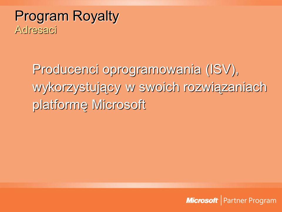 Program Royalty Pytanie i odpowiedź P :Co dokładnie oznacza termin wbudowane lub zagregowane rozwiązanie z technologią Microsoft.