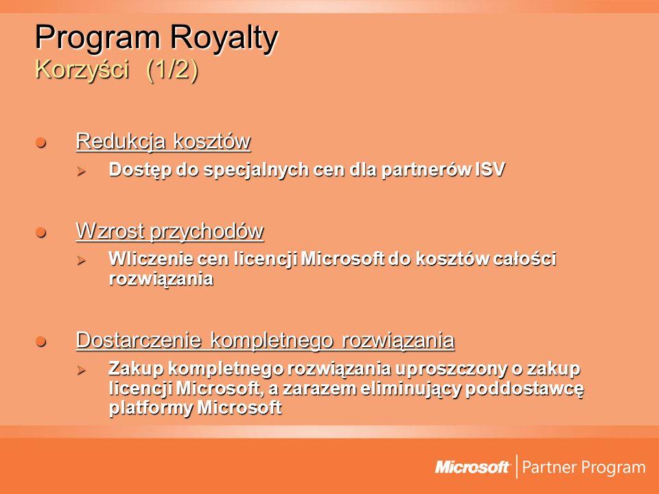 Enrollment (1/6) Numer umowy z Microsoft Numer umowy z Microsoft Informacje dotyczące przedstawiciela ISV Informacje dotyczące przedstawiciela ISV Strona umowy z Microsoft jest Microsoft MIOL (Ireland) Strona umowy z Microsoft jest Microsoft MIOL (Ireland)