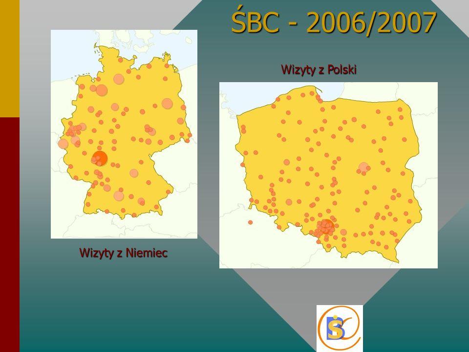 ŚBC - 2006/2007 Wizyty z Niemiec Wizyty z Polski