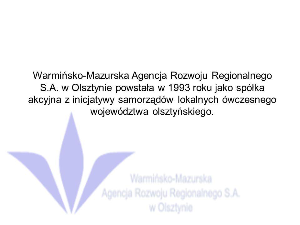 Misja WMARR S.A.