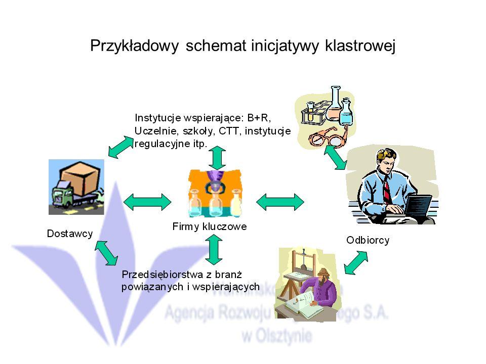 Przykładowy schemat inicjatywy klastrowej