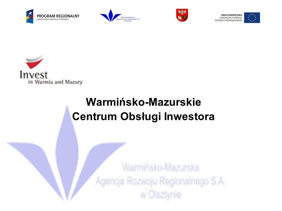 Warmińsko-Mazurskie Centrum Obsługi Inwestora