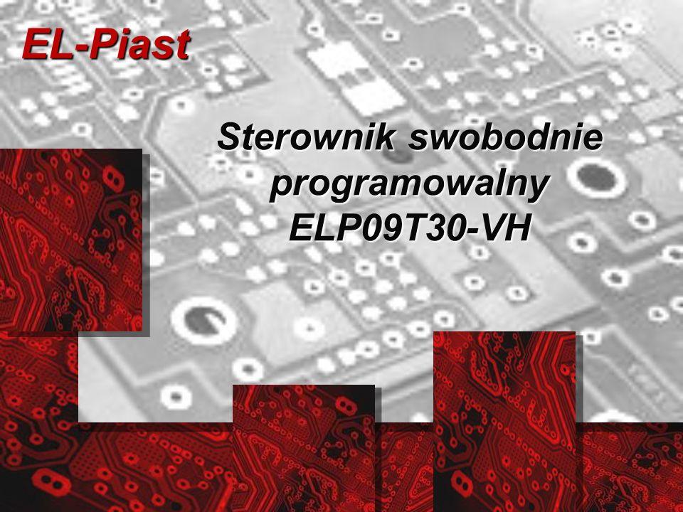 EL-Piast Sterownik swobodnie programowalny ELP09T30-VH