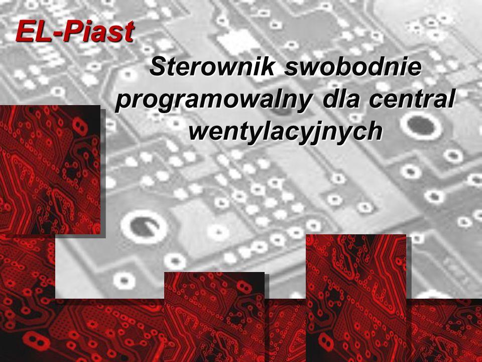 EL-Piast Sterownik swobodnie programowalny dla central wentylacyjnych