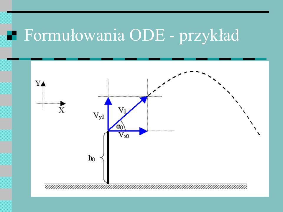 Te same oszacowania błędów Jednak odwrócony schemat Eulera jest zwykle bardziej stabilny i dokładniejszy Odwrócony schemat Eulera nie jest metodą bezpośrednią – wyznaczana wartość występuje po obu stronach przepisu