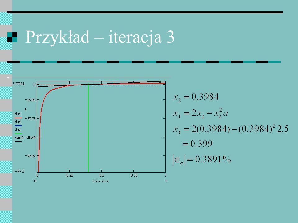 Przykład – iteracja 3