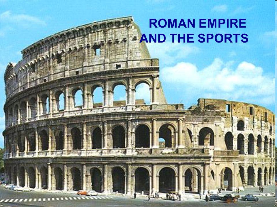 Młodzi rzymianie ćwiczyli ciało, gdyż uważali, że sprawne ciało to najlepsze zabezpieczenie na starość.