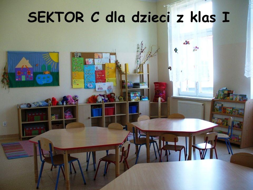 SEKTOR C dla dzieci z klas I