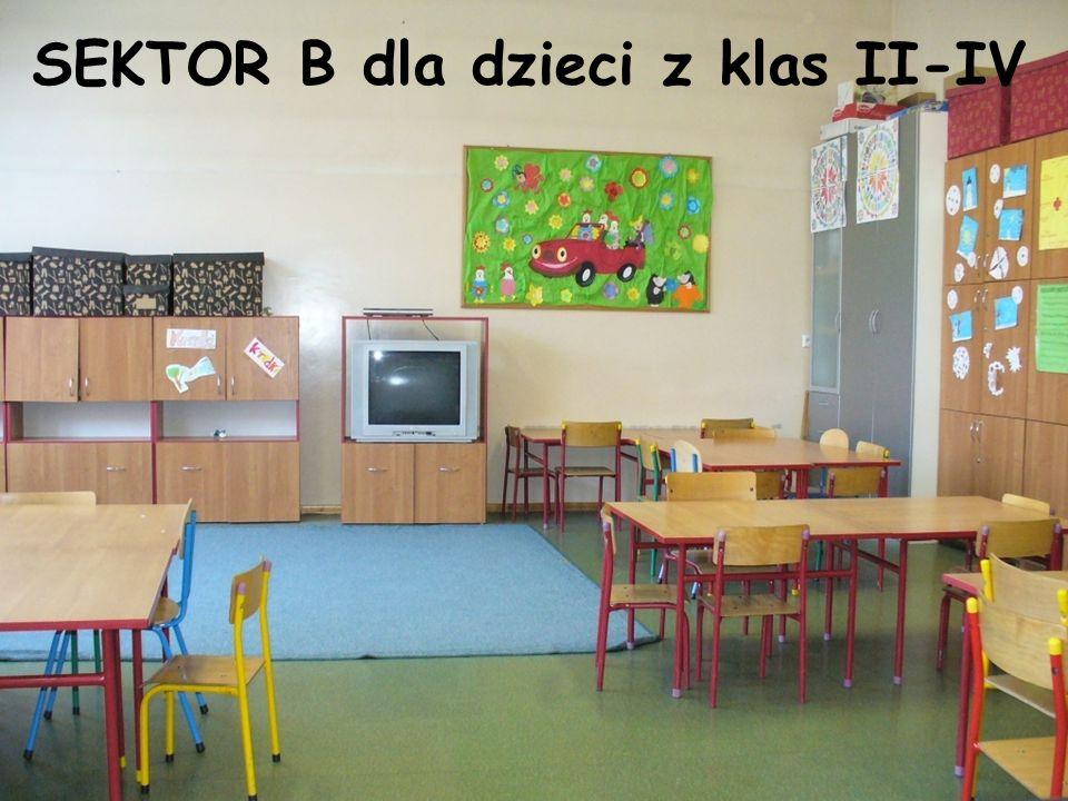 SEKTOR B dla dzieci z klas II-IV