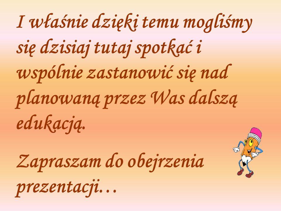 Zespół Szkół Zawodowych w Ozorkowie przygotował na rok 2006/2007 bardzo ciekawe propozycje kształcenia dla gimnazjalistów.
