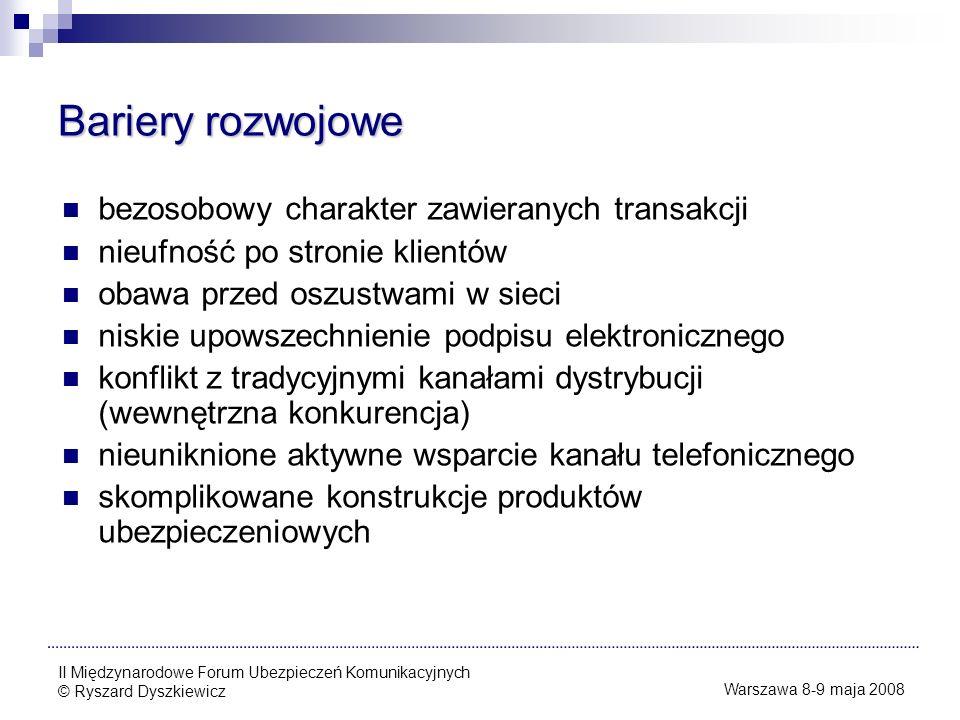 Dziękuję za uwagę Ryszard Dyszkiewicz Dyrektor Biura Informatyki i Telekomunikacji BENEFIA Towarzystwo Ubezpieczeń S.A.