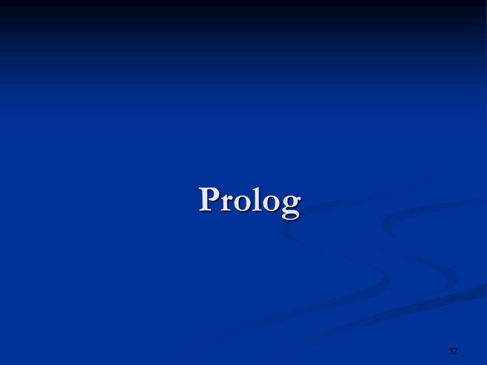 32 Prolog