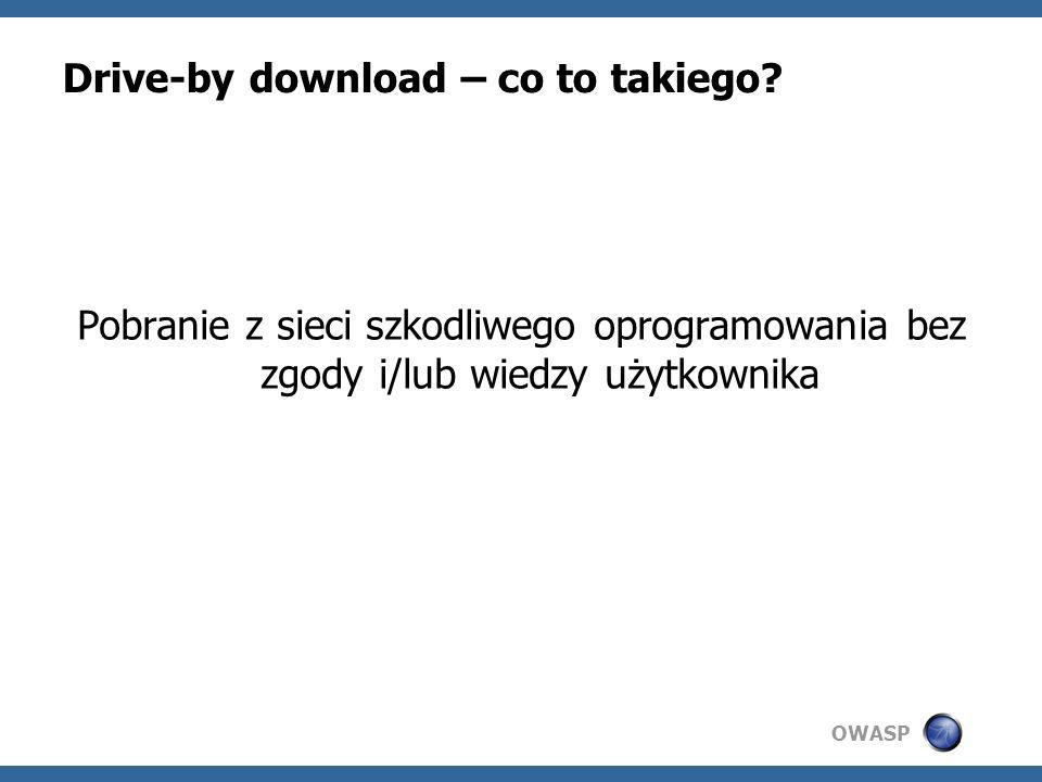 OWASP Drive-by download – co to takiego.