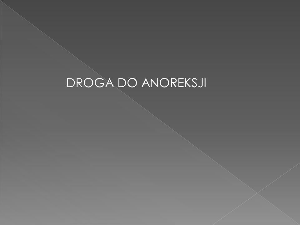 DROGA DO ANOREKSJI