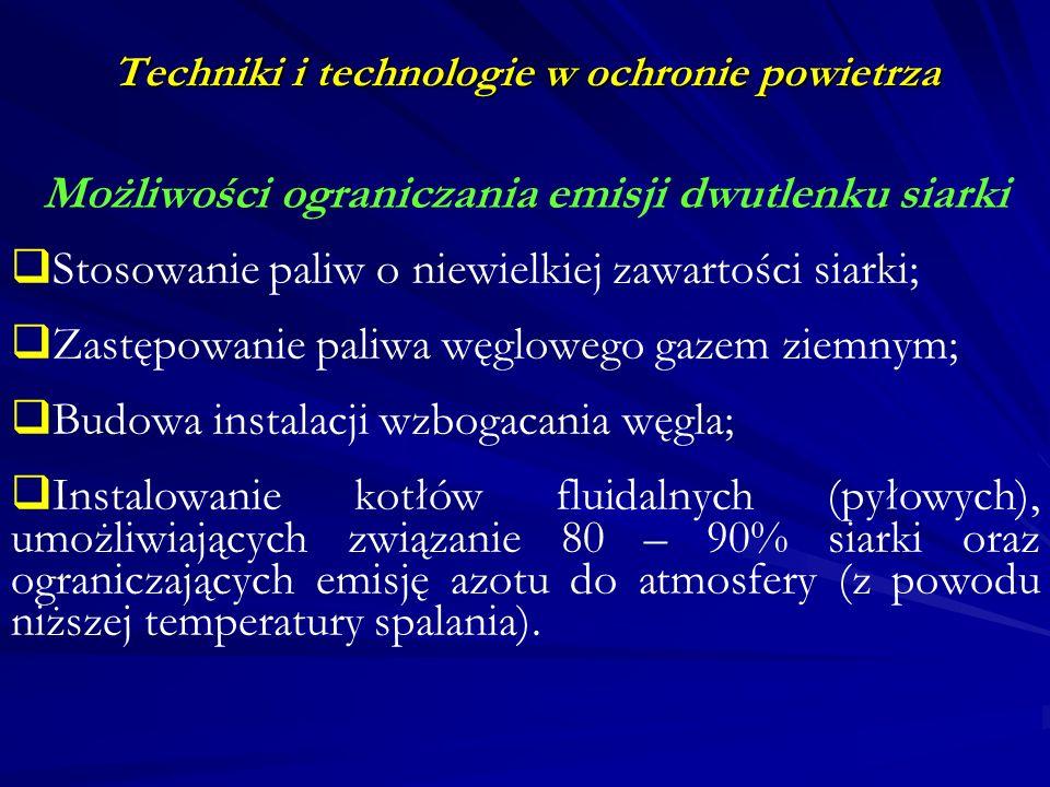 Techniki i technologie w ochronie powietrza Wody geotermalne Na obszarze Polski wykorzystywane były od dawna do celów leczniczych.