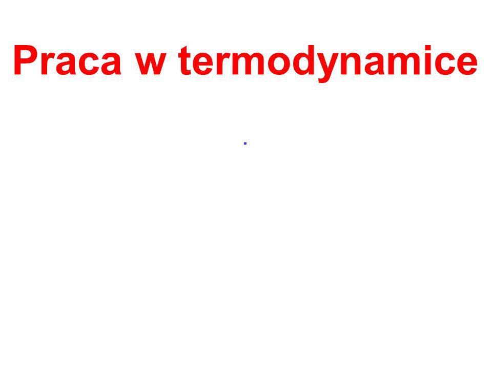 Praca w termodynamice.