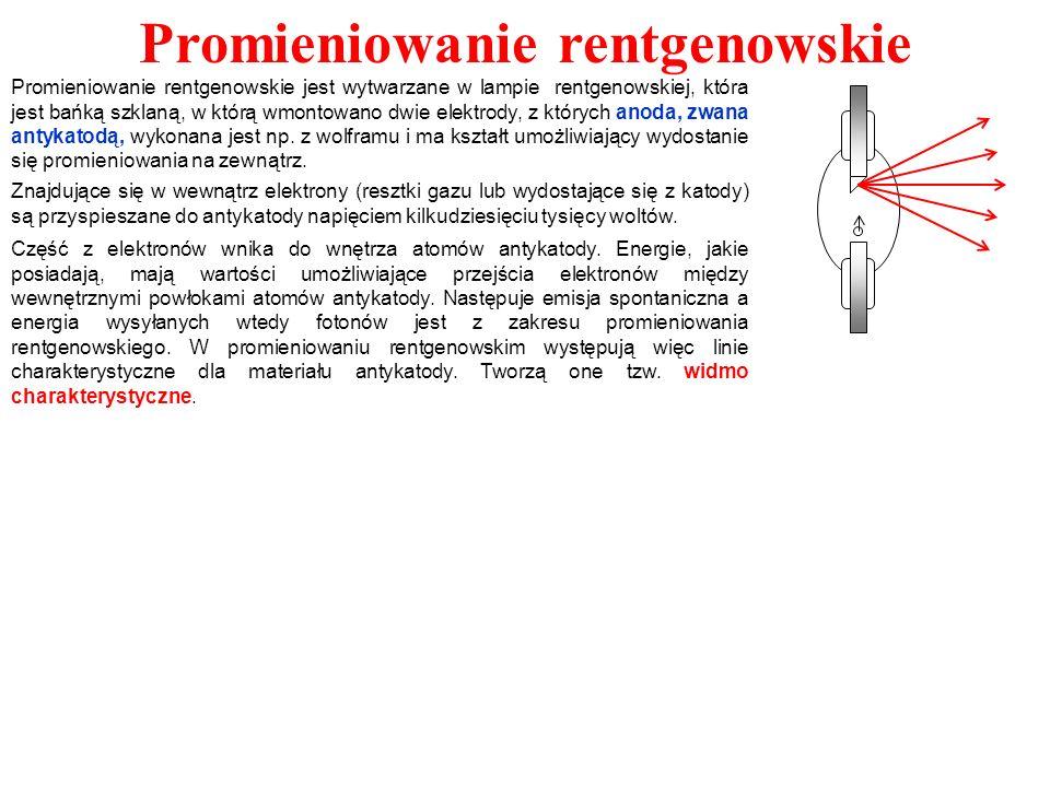 Dyfrakcja promieni Roentgena Warunki interferencji promieni Roentgena.
