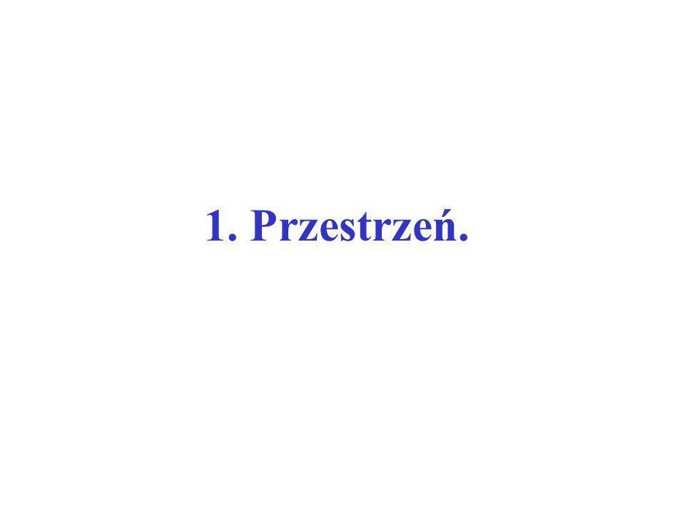 przestrzeń absolutna jest w swojej istocie absolutna względem wszystkiego zewnętrznego, jest zawsze jednakowa i nieruchoma.* *Cytat z Philosophiae Naturalis Principia Mathematica (1687 r.) I.