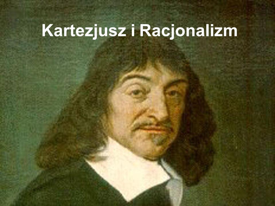 Życie Rene Descartes Urodzony w 1596 w La Haye Szkoła Jezuicka w La Fleche do 1612 r.
