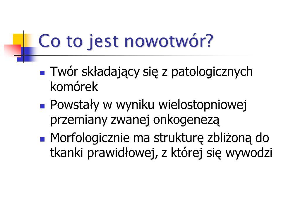 Problemy z nowotworami w Polsce Na przestrzeni ostatnich 40 lat liczba nowotworów złośliwych w Polsce podwoiła się. W 2002 r. w Polsce zarejestrowano
