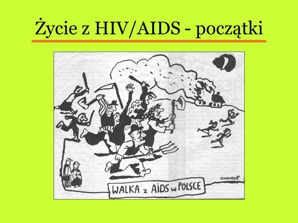 Życie z HIV/AIDS - początki