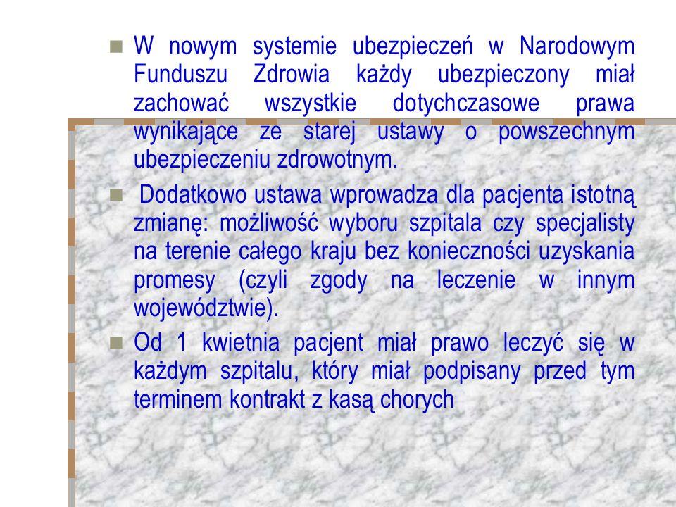 Koszty leczenia lub badań diagnostycznych ubezpieczonego poza granicami kraju: 1) wynikające z umów międzynarodowych, 2) na podstawie skierowania ministra właściwego do spraw zdrowia, o którym mowa w ust.