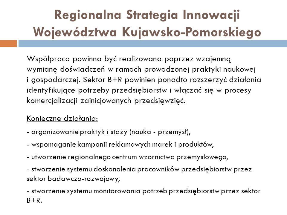 Współpraca powinna być realizowana poprzez wzajemną wymianę doświadczeń w ramach prowadzonej praktyki naukowej i gospodarczej. Sektor B+R powinien pon