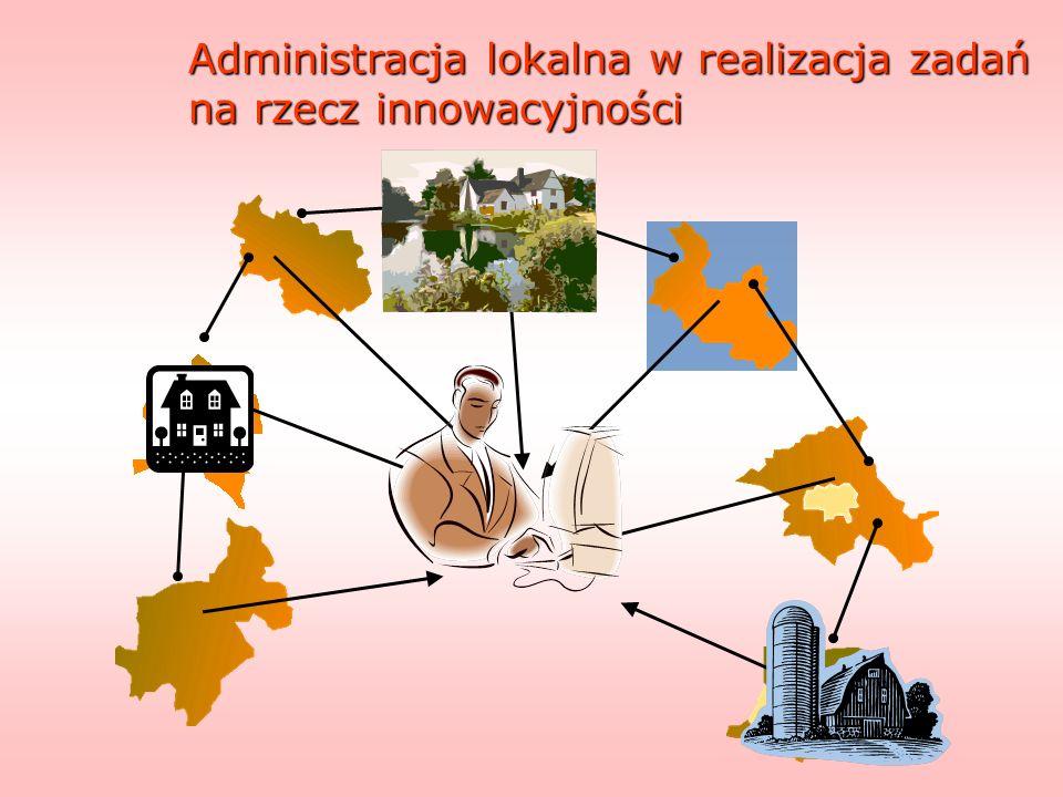 Administracja lokalna w realizacja zadań na rzecz innowacyjności
