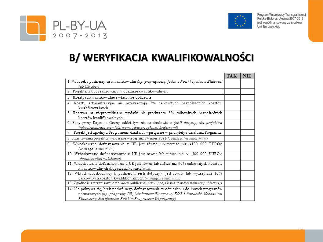 Wyjaśnienia (1) W przypadku nie spełnienia niektórych kryteriów wniosek zostaje odrzucony lub wnioskodawca zostaje poproszony o udzielenie wyjaśnień – zgodnie z punktem 2.2.1 Wytycznych; Wyjaśnienia należy przesłać w terminie podanym przez WST, lecz nie później niż 14 dni kalendarzowych od przesłania prośby; WST przesyła prośbę o udzielenie wyjaśnień faksem i pocztą elektroniczną; Wnioskodawcy przesyłają odpowiedzi faksem i pocztą elektroniczną oraz oryginały pocztą poleconą (decyduje data stempla pocztowego), pocztą kurierską lub dostarczają dokumenty osobiście.