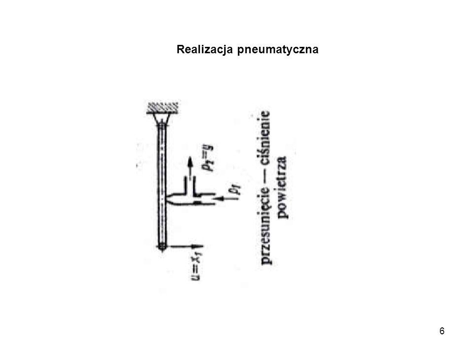 6 Realizacja pneumatyczna