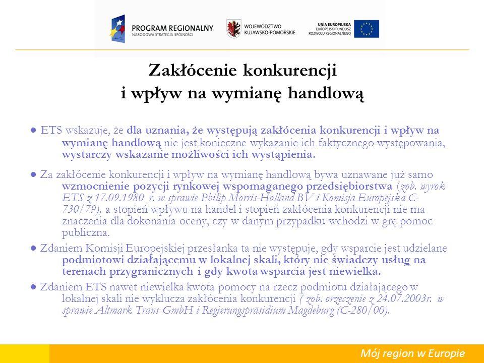 Mój region w Europie Energetyka Generalnie trzy kategorie projektów: I.