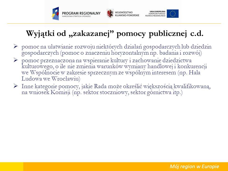 Mój region w Europie Kultura i ochrona dziedzictwa narodowego I.