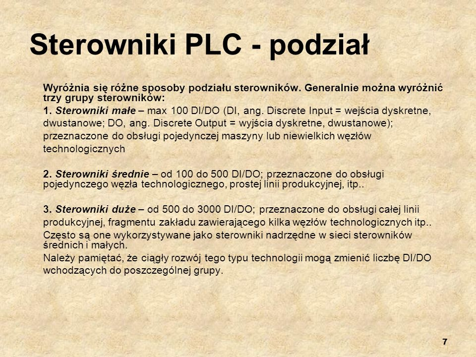 18 Regulator PI Regulator PI (ang.