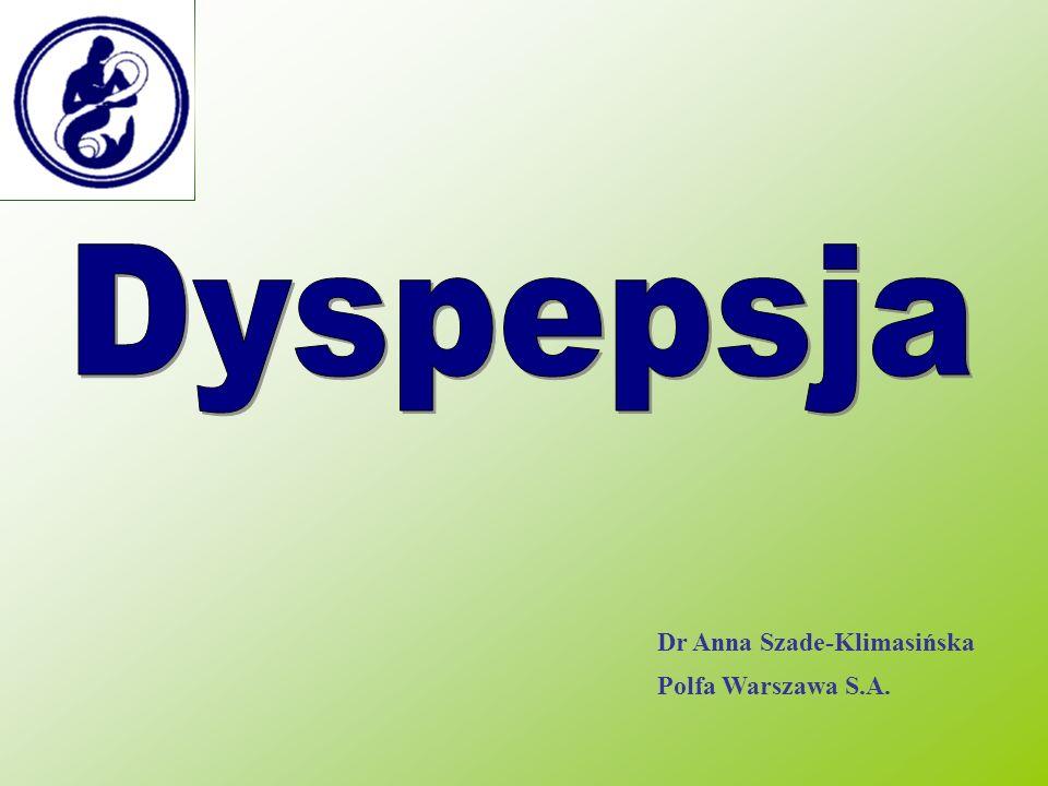 Dr Anna Szade-Klimasińska Polfa Warszawa S.A.