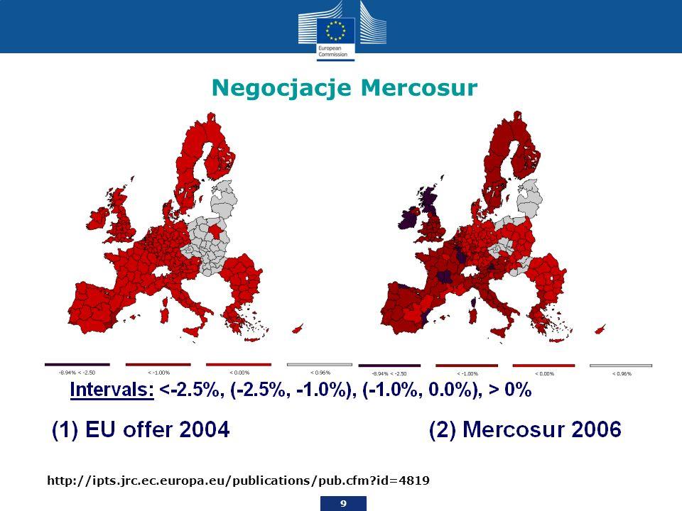 9 Thank you Negocjacje Mercosur http://ipts.jrc.ec.europa.eu/publications/pub.cfm?id=4819