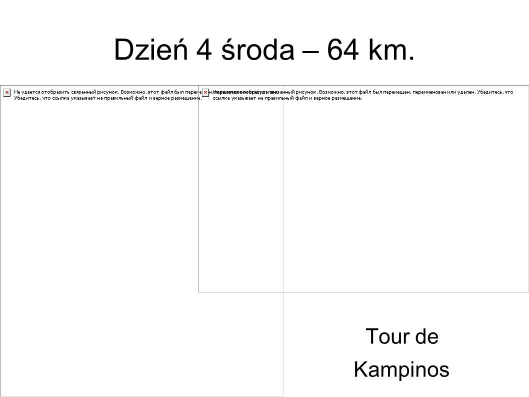 Dzień 4 środa – 64 km. Tour de Kampinos