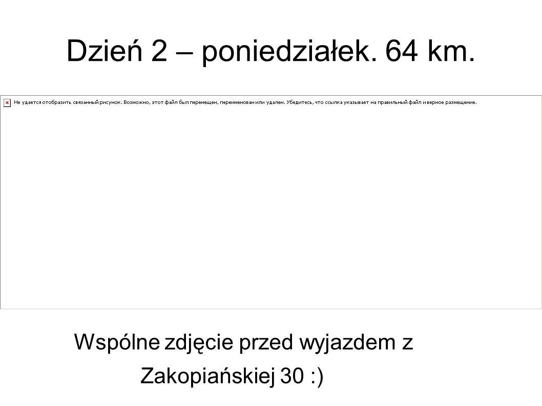 Przez pola i lasy … nad Zalew Zegrzyński Droga nie zawsze była lekka, niemal na każdym kroku czekały nas niespodzianki.