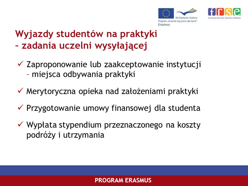 PROGRAM COMENIUSPROGRAM ERASMUS fot.