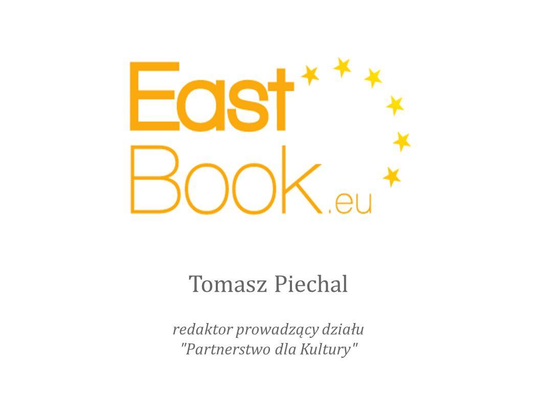 Tomasz Piechal redaktor prowadzący działu Partnerstwo dla Kultury