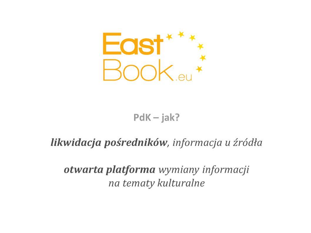 likwidacja pośredników, informacja u źródła otwarta platforma wymiany informacji na tematy kulturalne PdK – jak?