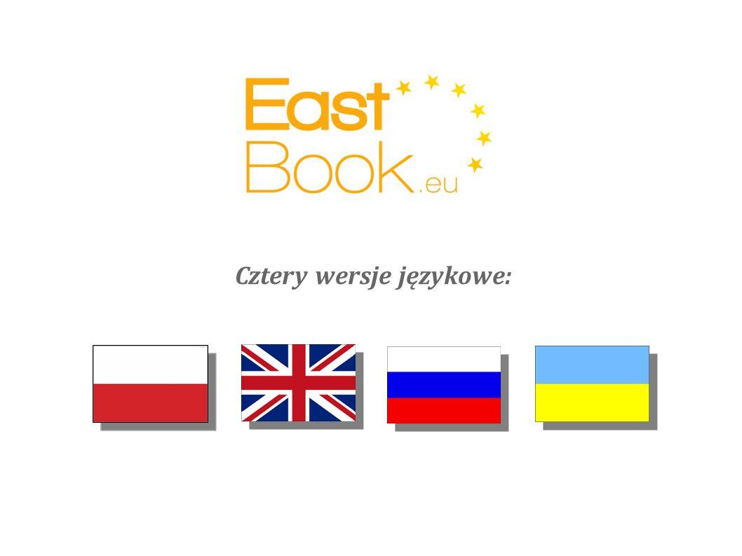 Cztery wersje językowe: