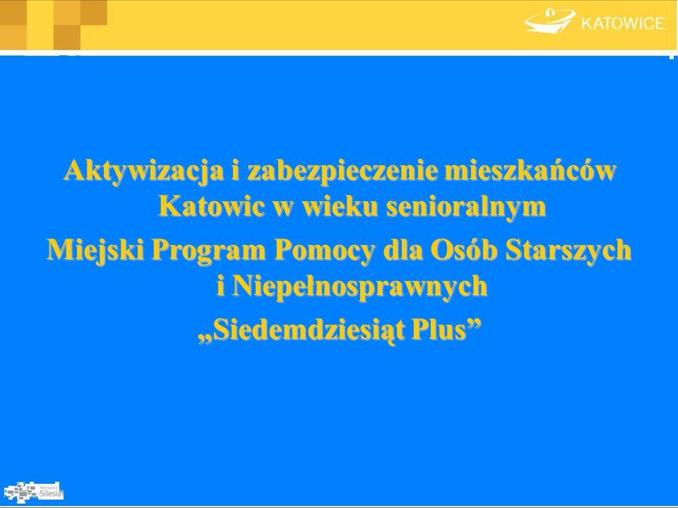 ETAP V Profilaktyka i promocja zdrowia dla osób starszych W Katowicach od wielu lat w ramach Programu Profilaktyki i Promocji Zdrowia organizowane i finansowane są programy profilaktyczne, których celem jest wczesne wykrywanie i zapobieganie wielu chorobom.