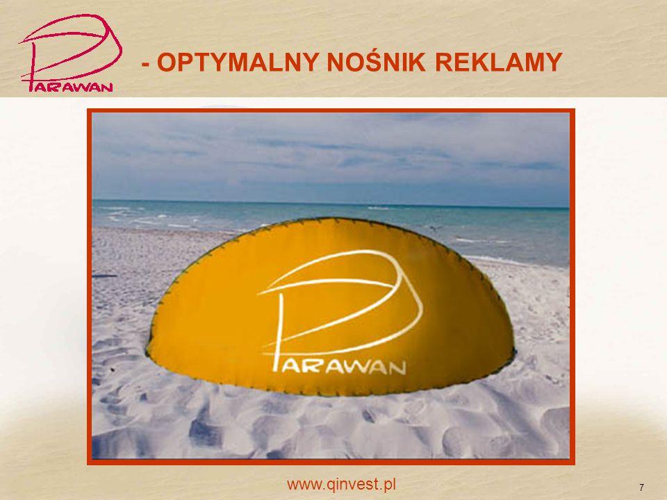 - OPTYMALNY NOŚNIK REKLAMY 7 www.qinvest.pl