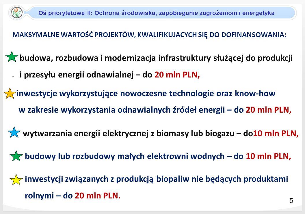 SYSTEM WYBORU PROJEKTOW W RAMACH RPO WŁ W ramach RPO WŁ przewiduje się następujące tryby wyboru projektów: tryb dotyczący projektów indywidualnych tryb konkursowy tryb dotyczący projektów systemowych Tryb konkursowy : W ramach Działania II.9 na procedurę konkursową pozostało: 24 960 433,6 EUR 6