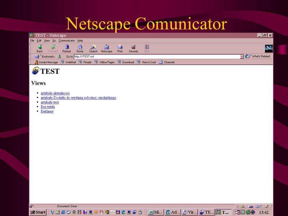 Netscape Comunicator