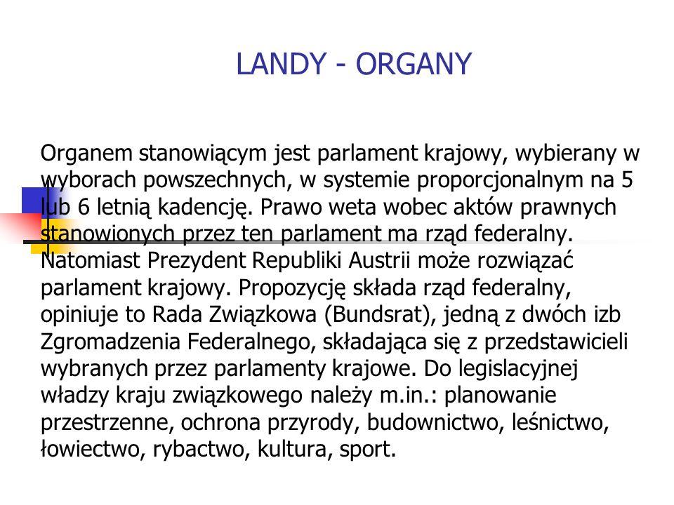 Organem stanowiącym jest parlament krajowy, wybierany w wyborach powszechnych, w systemie proporcjonalnym na 5 lub 6 letnią kadencję. Prawo weta wobec